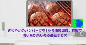 さわやかのハンバーグを1から徹底調査。通販で同じ味が楽しめる逸品まとめ